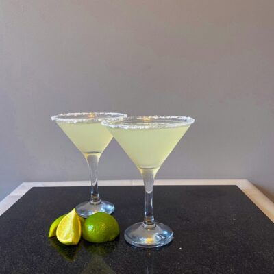 Margarita - Popular Cocktail - 2 Glasses